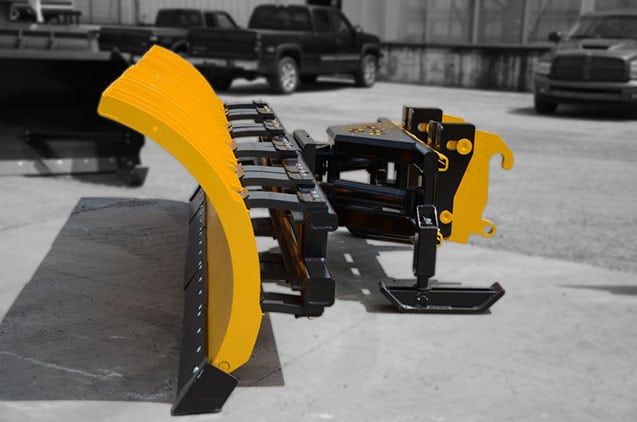 Sectional Snow Plow