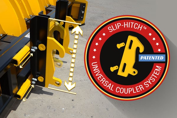 Slip Hitch Universal Coupler System